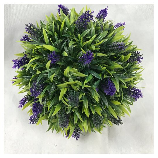 Artificial Lavender Flower Ball