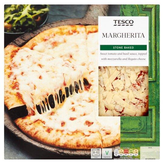 Tesco Stonebaked Margherita Pizza 286g
