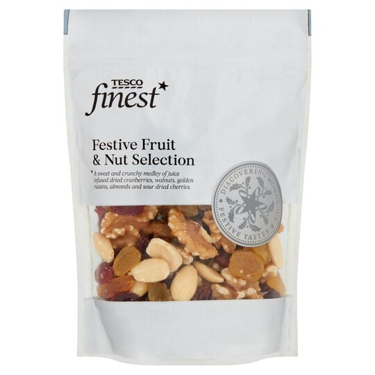 Tesco Finest Fruit & Nut Selection 225G - Tesco Groceries
