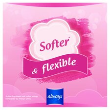 image 2 of Always Sensitive Normal Size 1 Sanitary Towels With Wings 14 Pack