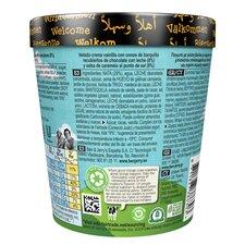 image 2 of Ben & Jerry's Vanilla Ice Cream Chocolate Waffle Cone Salted Caramel 465Ml