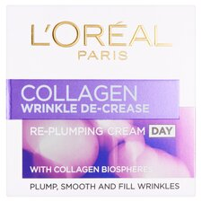 image 1 of L'oreal Paris Collagen Wrinkle De-Crease Day Cream 50Ml