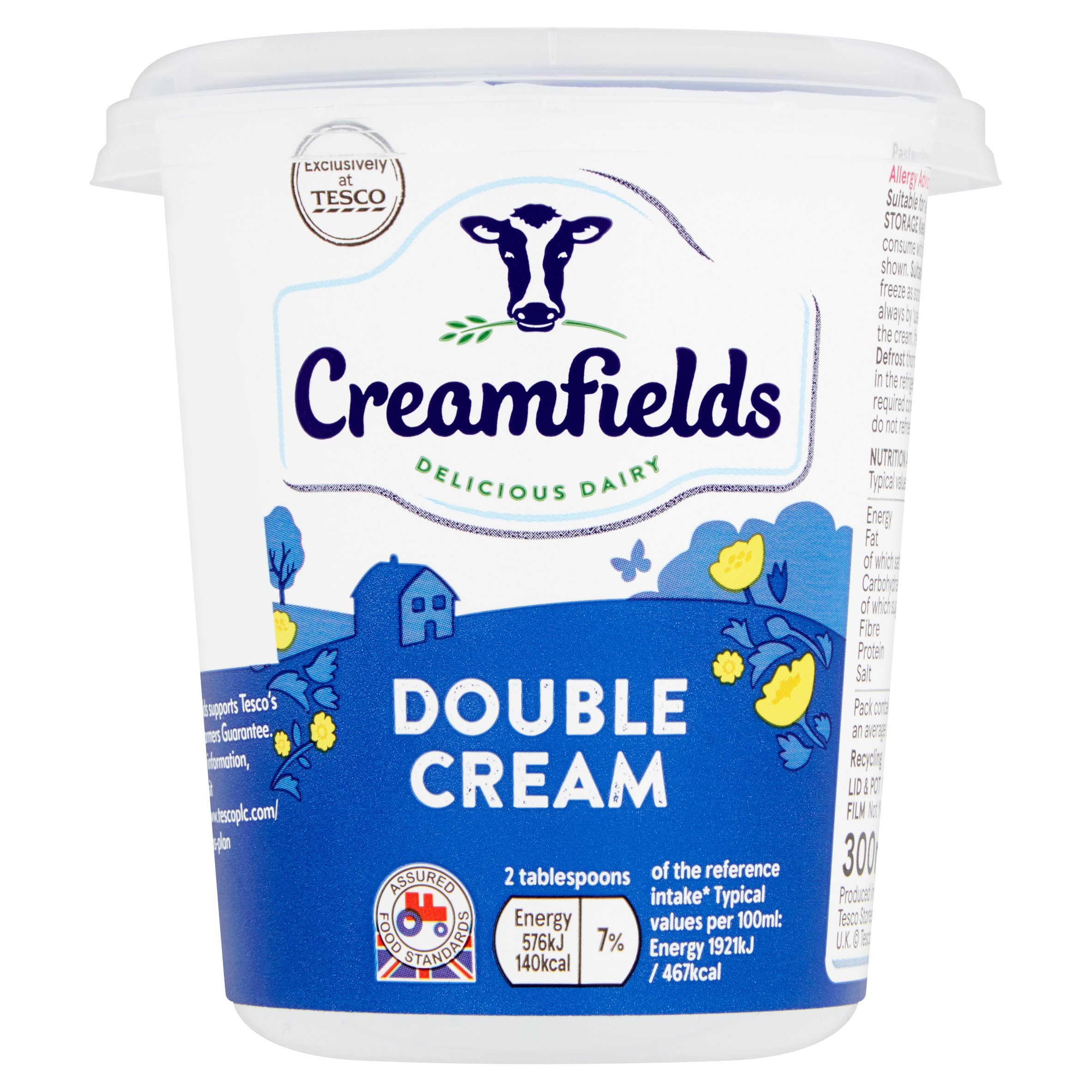 Creamfields Double Cream 300Ml