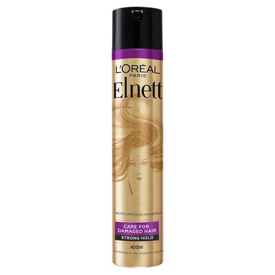 L'oreal Paris Elnett Precious Oil Hair Spray 400Ml