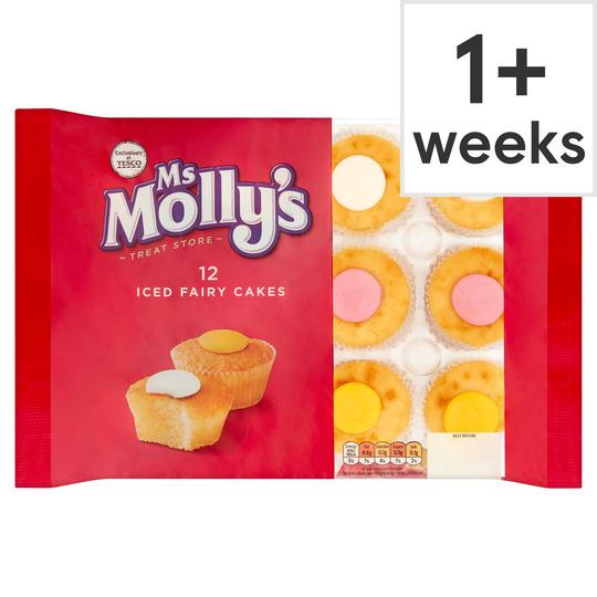 Ms Molly's 12 Iced Fairy Cakes