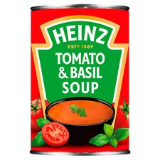 image 1 of Heinz Cream Of Tomato & Basil Soup 400G