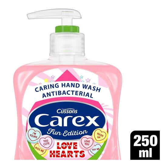 Carex Love Hearts Handwash 250Ml