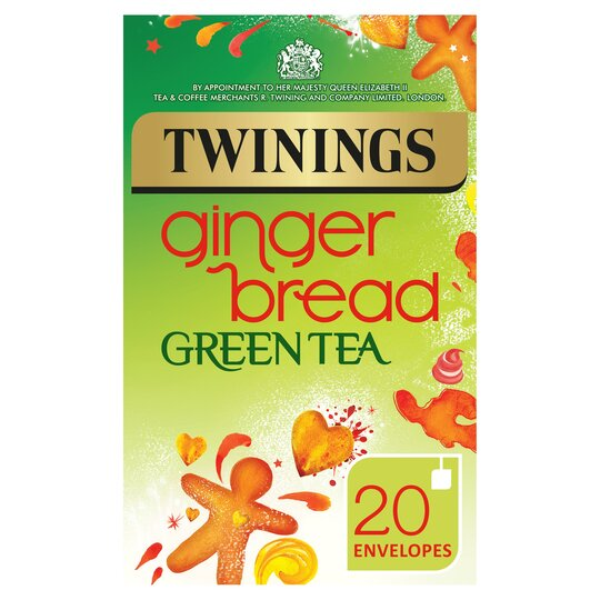 Twinings Green Gingerbread Tea Bags 20s 40g Tesco Groceries