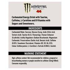 image 2 of Monster Lewis Hamilton Energy Drink 4X500ml