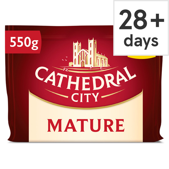 Cathedral City Mature Cheddar 550G