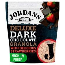 image 1 of Jordans Deluxe Dark Chocolate Granola & Strawberries 550G