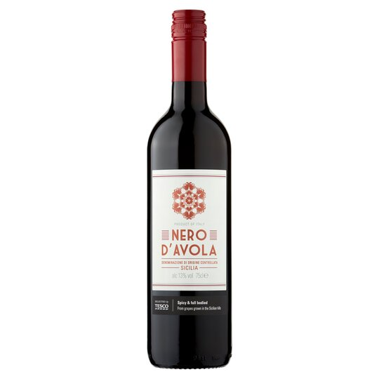 image 1 of Tesco Nero D'avola 75Cl