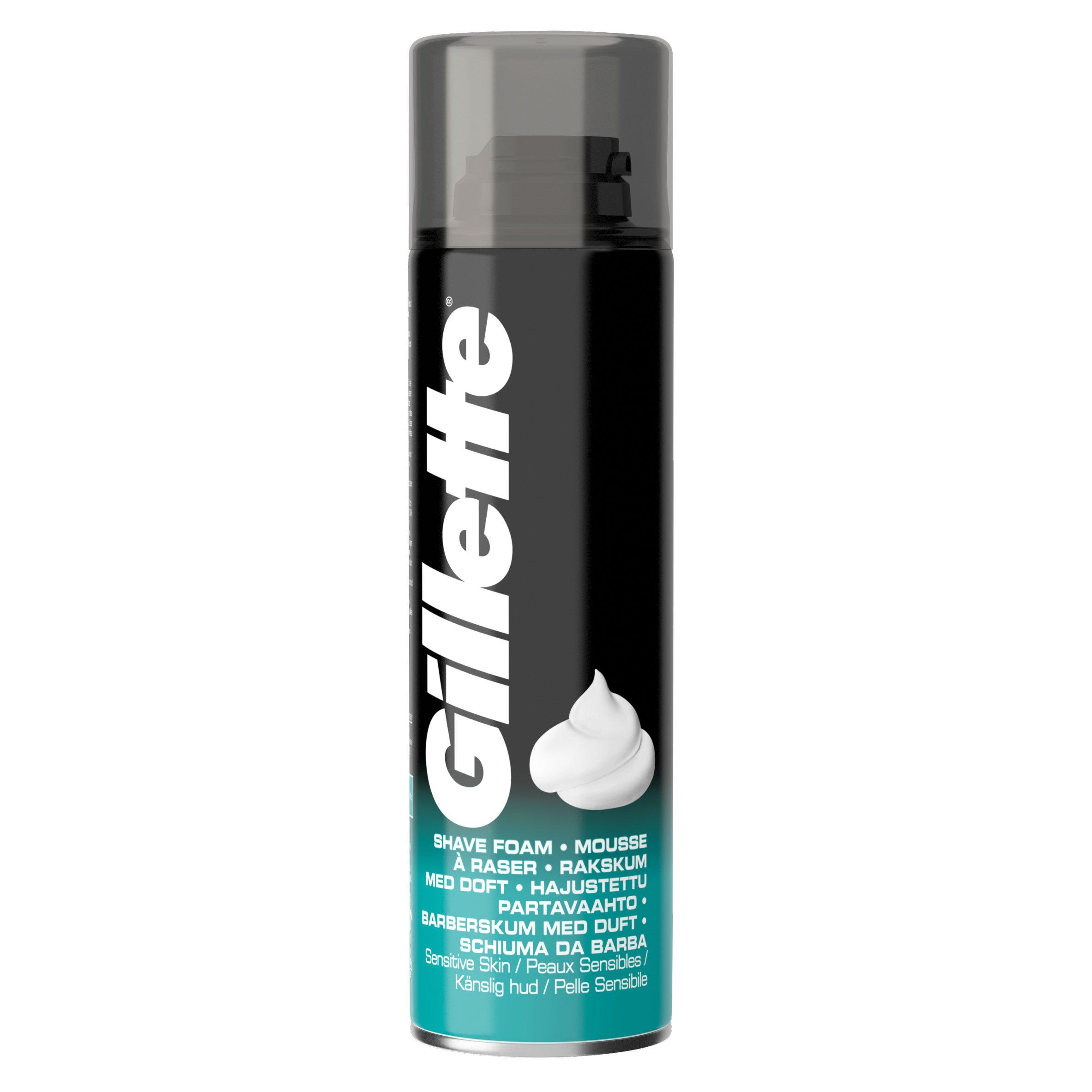 Gillette Classic Sensitive Skin Shave Foam 200Ml