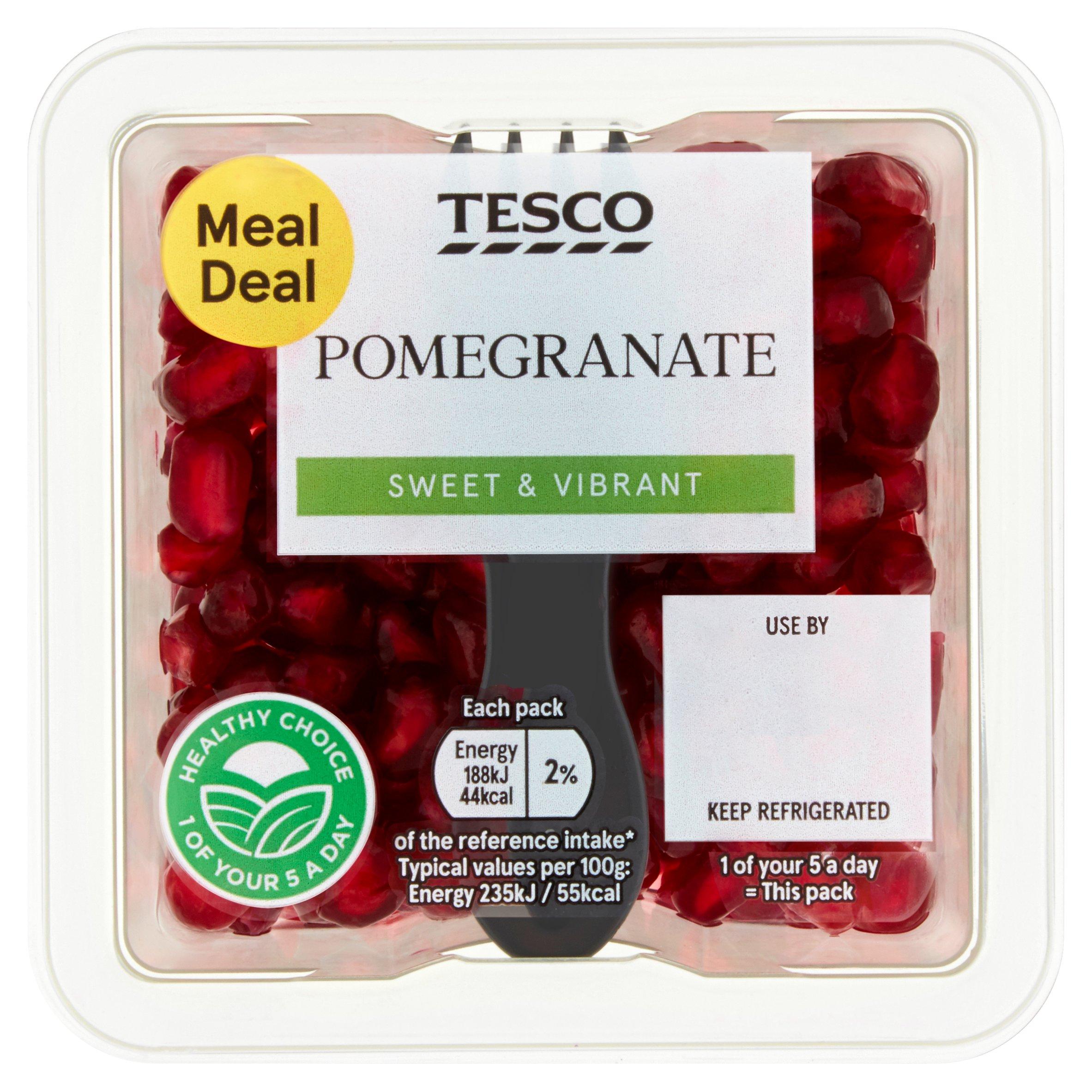Tesco Pomegranate 80G