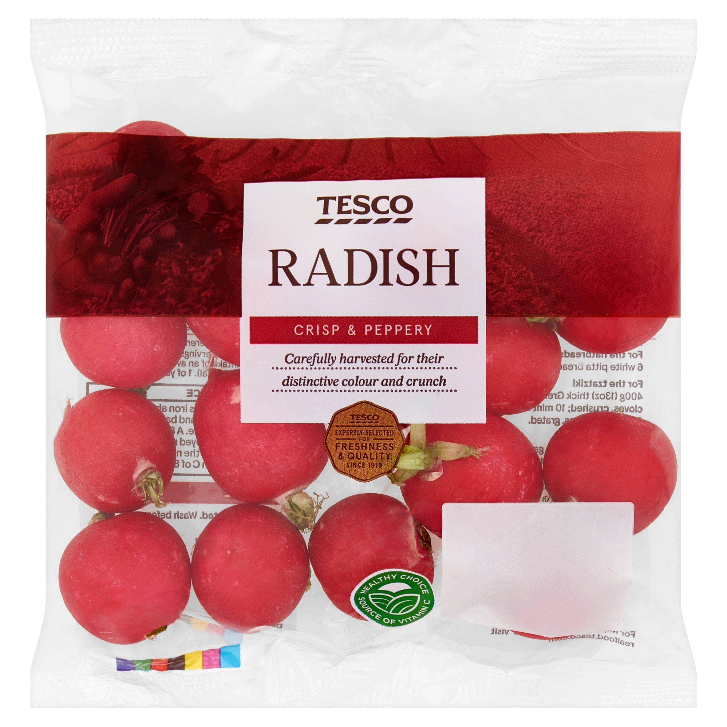 Tesco Radish Pack 240G