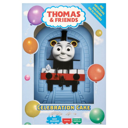 Swell Thomas And Friends Party Cake Each Tesco Groceries Funny Birthday Cards Online Overcheapnameinfo