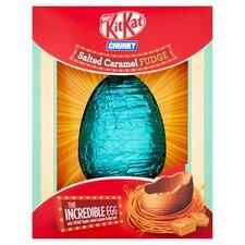 image 2 of Nestle KitKat Salted Caramel Giant Egg 516G