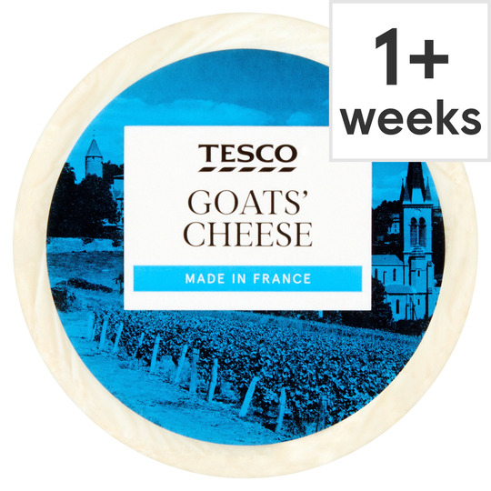 Tesco French Goats Cheese 100G