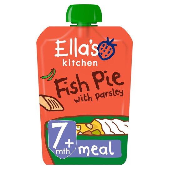 Ella's Kitchen Fish Pie With Parsley 130G