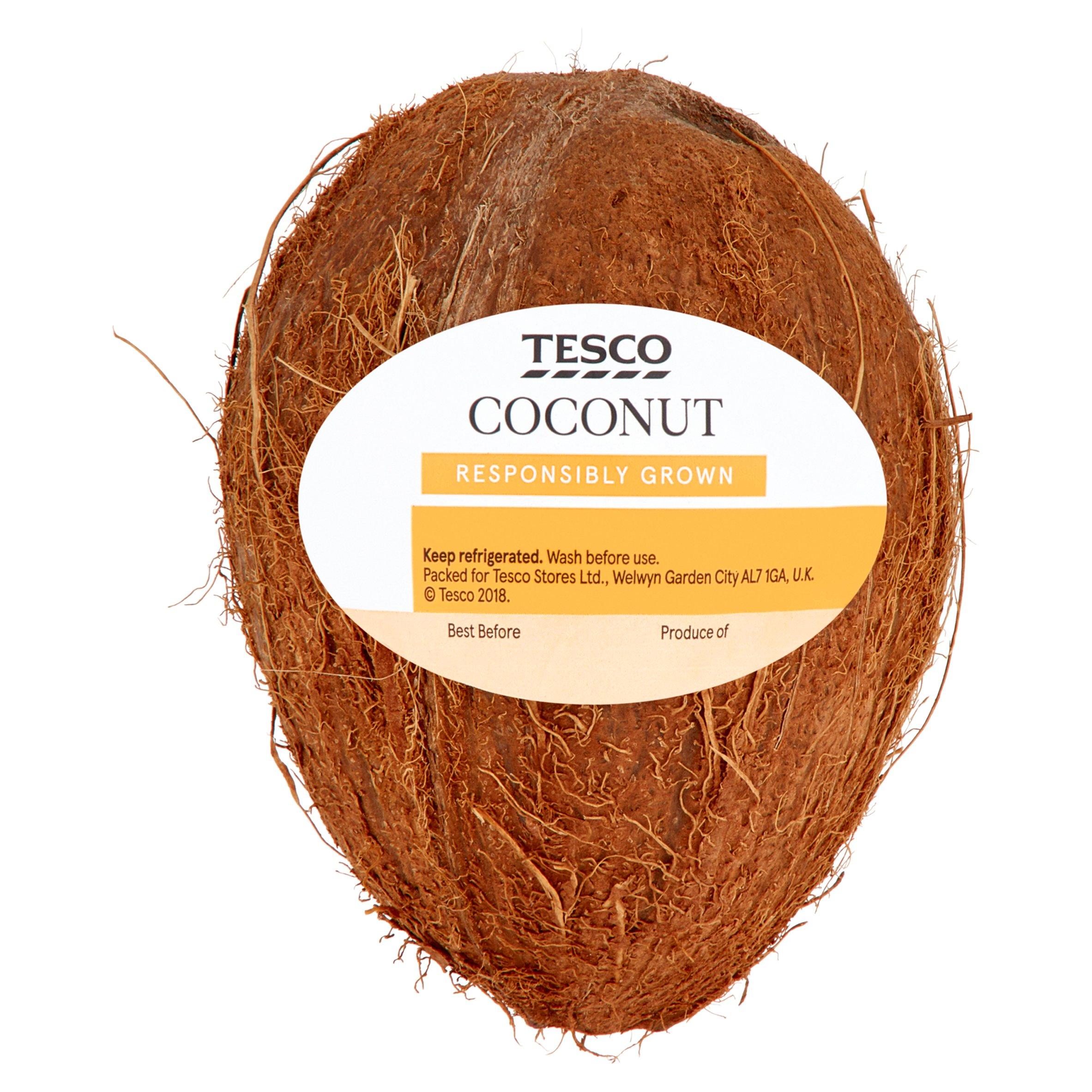 Tesco Rainforest Alliance Coconut Each