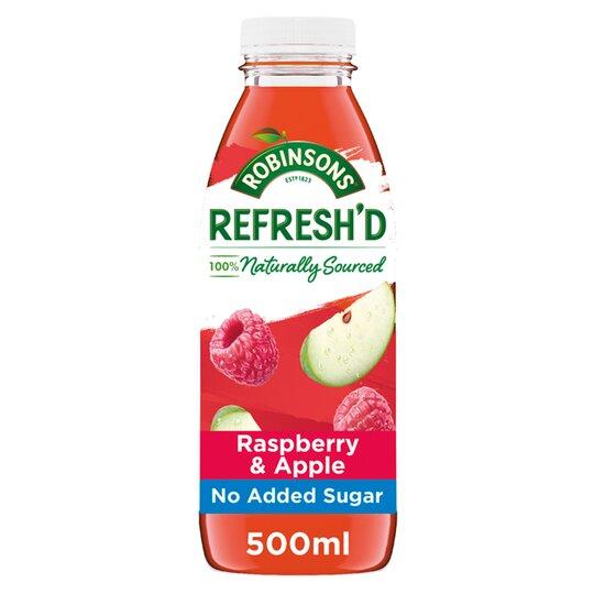 Robinson's Refreshd Raspberry Apple 500Ml