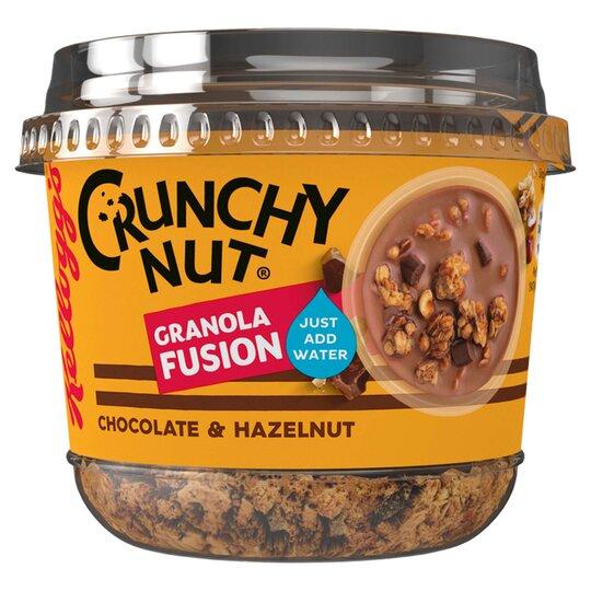 Kellogg's Crunchy Nut Chocolate & Hazelnut Granola Fusion 65G