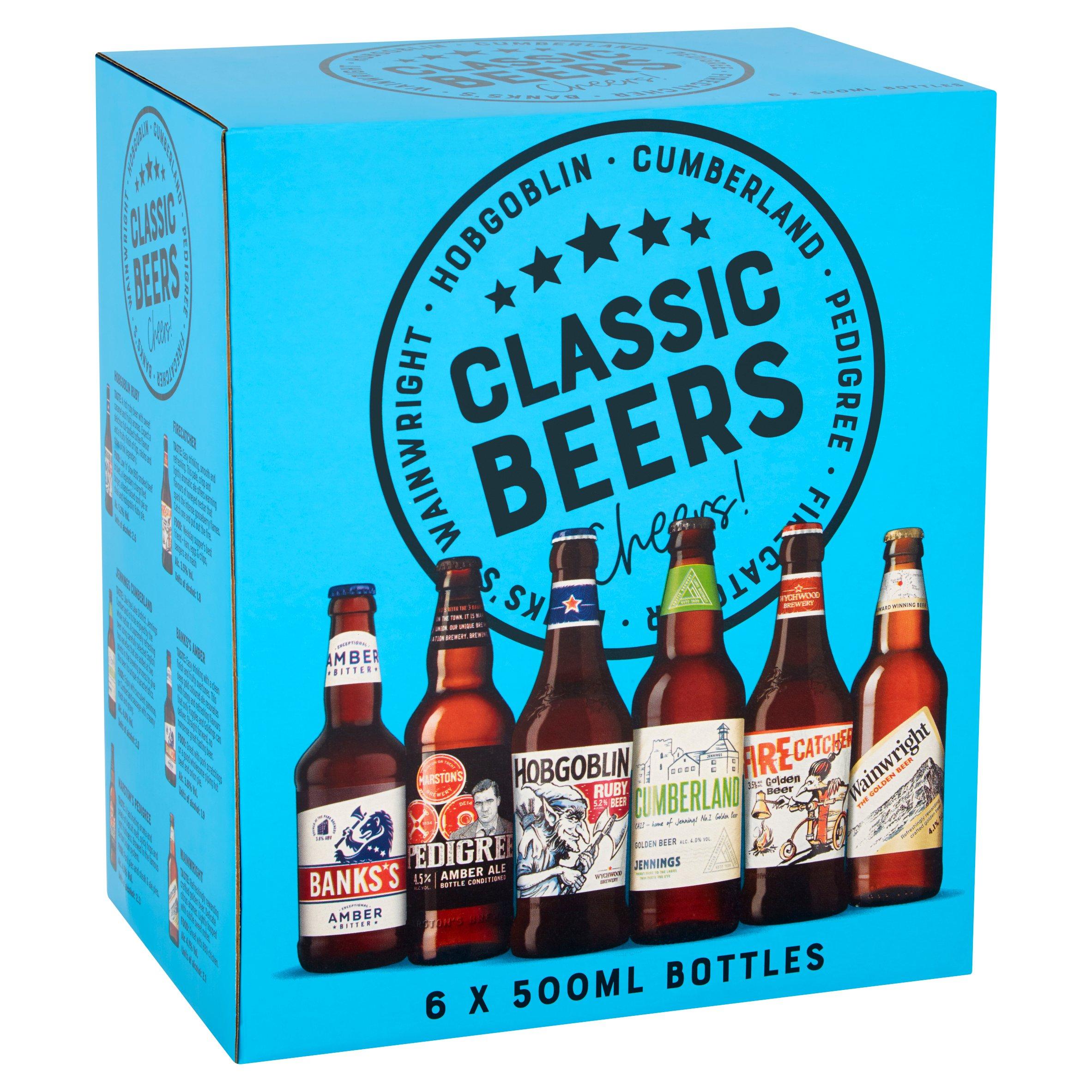 Marstons Classic Ales 6X500ml