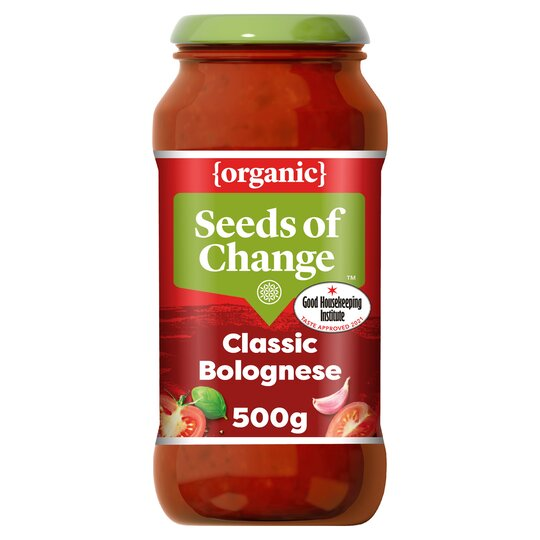 image 1 of Seeds Of Change Bolognese Organic Pasta Sauce 500G