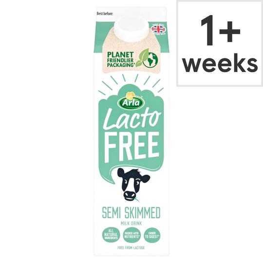 Lactofree Fresh Semi Skimmed Milk 1L