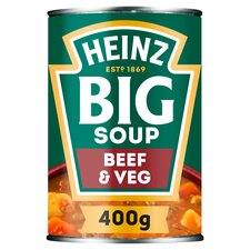 image 1 of Heinz Big Soup Beef & Vegetable 400G