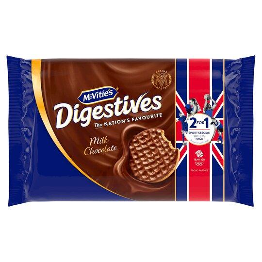 Mcvities Milk Chocolate Digestive Biscuits 2X300g