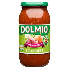 image 1 of Dolmio Bolognese Onion & Garlic Pasta Sauce 500G