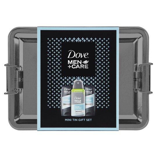 Dove Men+Care Mini Tin Gift Set