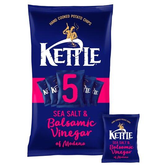 Kettle Sea Salt & Balsamic Vinegar 5X30g