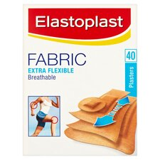 image 1 of Elastoplast Fabric Plasters 40'S