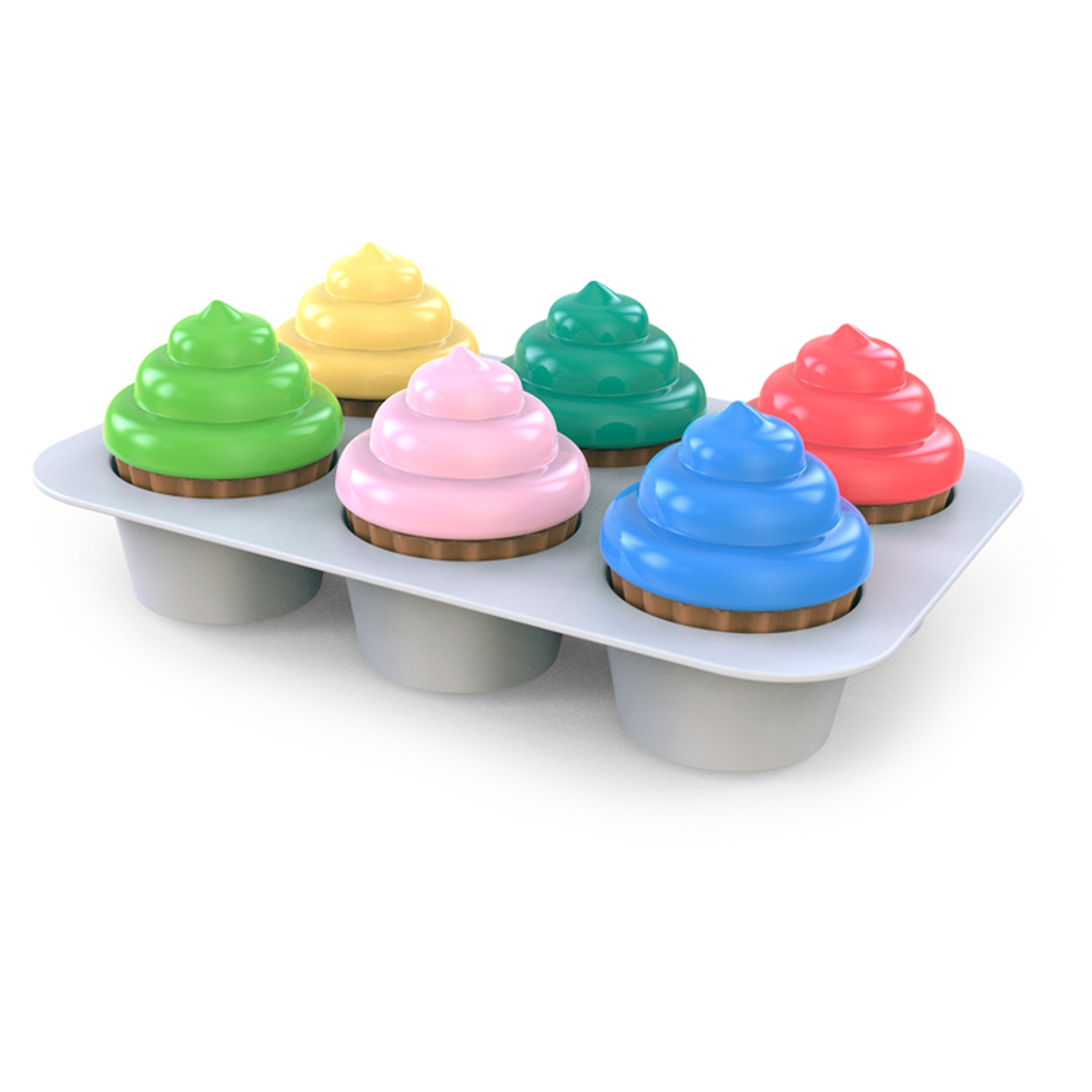 Bright Starts Cupcakes Activity Toy