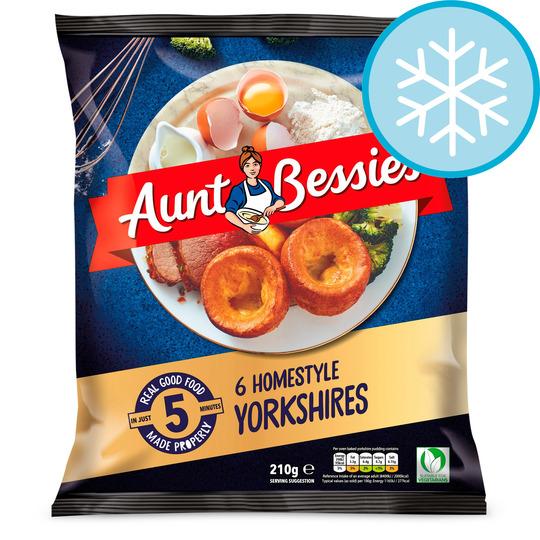 Aunt Bessie's 6 Homestyle Yorkshires 210G