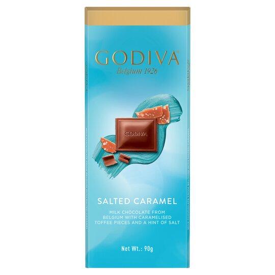 Godiva Belgium Milk Chocolate Salted Caramel 90G