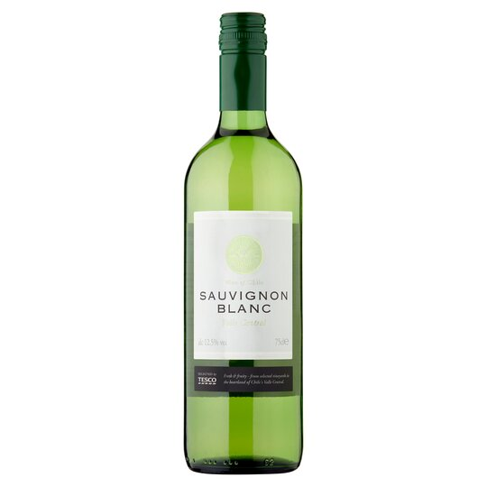image 1 of Tesco Chilean Sauvignon Blanc 75Cl
