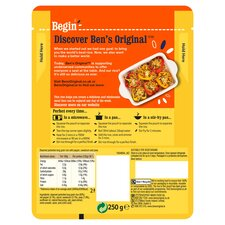 image 2 of Ben's Original Golden Vegetable Microwave Rice 250G