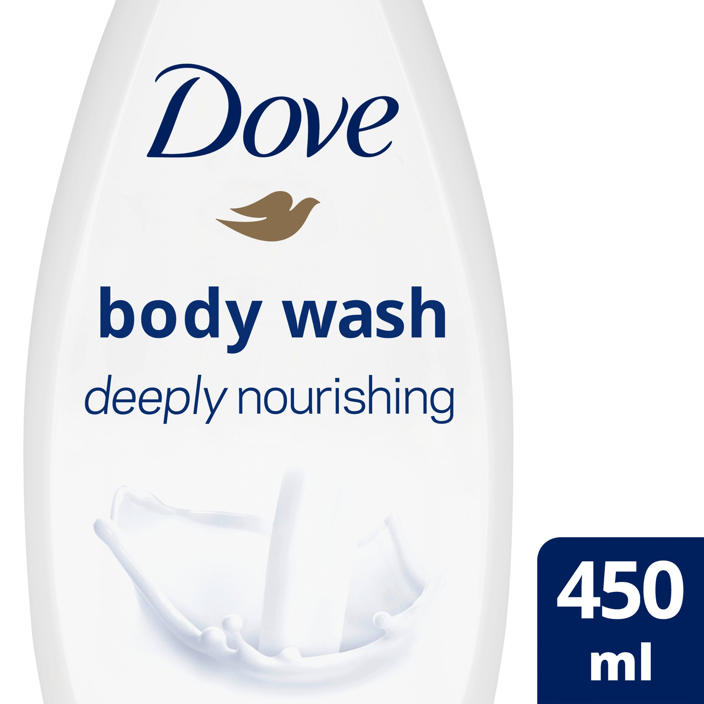Dove Deeply Nourishing Body Wash 450Ml