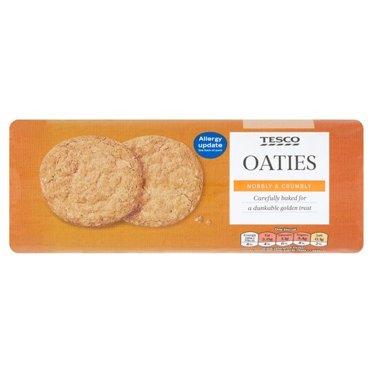 Tesco Oaty Rounds Biscuits 300g Tesco Groceries