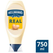 image 1 of Hellmann's Real Squeezy Mayonnaise 750Ml
