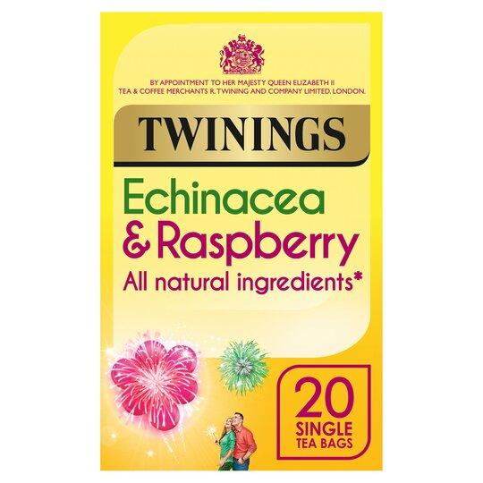 Twinings Echinacea And Raspberry 20'S 40G