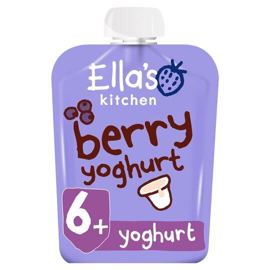 Ella's Kitchen Greek Yogurt Berry 90G