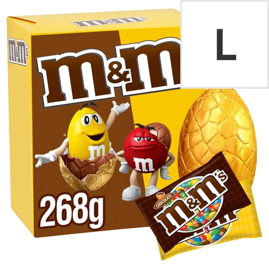 image 1 of M&M Large Easter Egg 268G