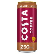 image 1 of Costa Coffee Caramel Latte 250Ml