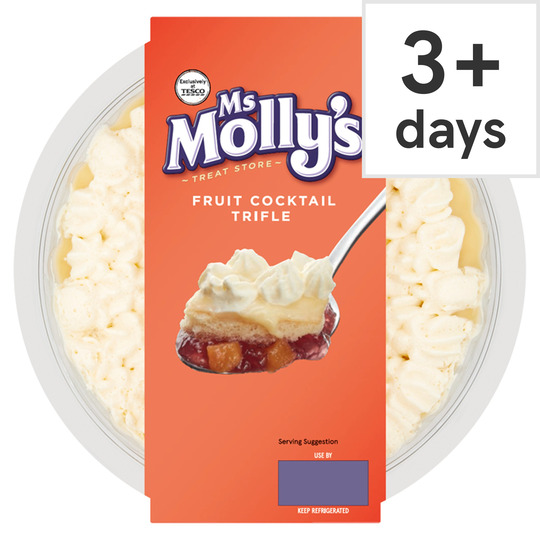 Ms Molly's Fruit Cocktail Trifle 472G