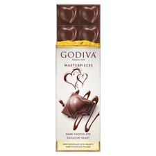 image 2 of Godiva Belgian Dark Chocolate Ganache Bar 83G