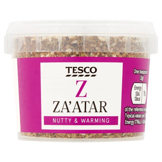 Tesco Za'atar Seasoning 45G